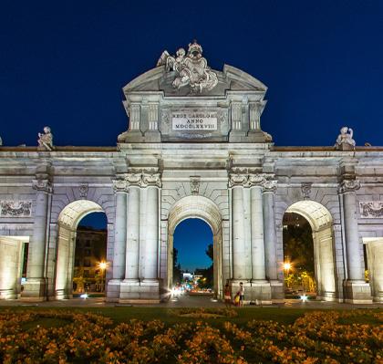 Puerta de Alcalá, visitará en Living Madrid
